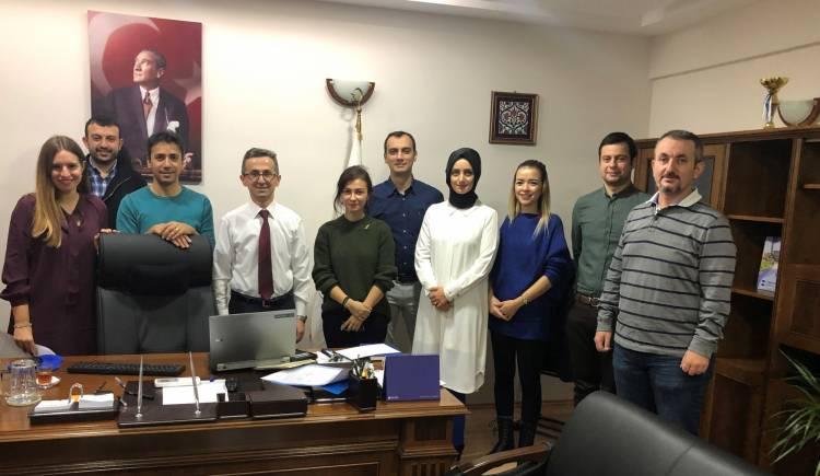 Diş Hekimliği Fakültesi ile Bilimsel Proje Hazırlık Toplantısı Yapıldı